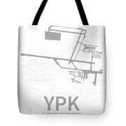 Ypk Pitt Meadows Regional Airport In Pitt Meadows Canada Runway  Tote Bag