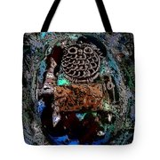 Abstract Orgone Tote Bag
