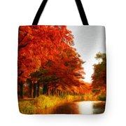 Landscape Scene Tote Bag