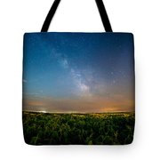 50 Miles From Chicago On A Summer Night Tote Bag