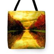 Painters Landscape Tote Bag
