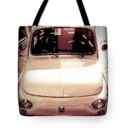 500 Fiat Toned Sepia Tote Bag by Stefano Senise