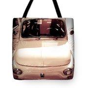 500 Fiat Toned Sepia Tote Bag