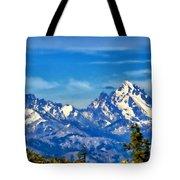 Color Landscape Tote Bag