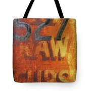 527 Raw Furs Tote Bag