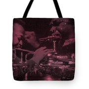 52nd Street Miles And Coltrane Tote Bag