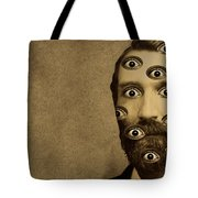 53384 Funny Wtf Tote Bag