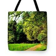 Oil Landscape Art Tote Bag