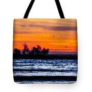 Sunset Bay Beach Tote Bag