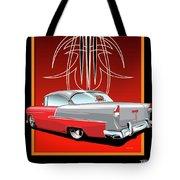 55 Chevy Pinstriping Tote Bag