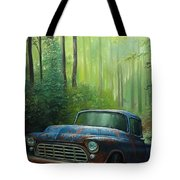 55 Chevy Tote Bag