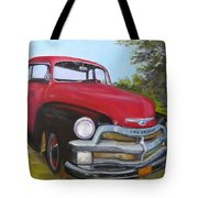 55 Chevy Truck Tote Bag