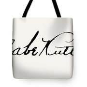 George H. Ruth (1895-1948) Tote Bag