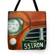 55 Iron Tote Bag