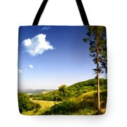 Paint Landscapes Tote Bag