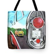 56 Chevy Reflections Tote Bag
