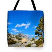D L Landscape Tote Bag