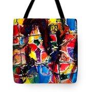 Jugglery Of Colors Tote Bag