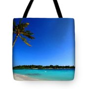 Landscape In Painting Tote Bag