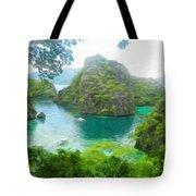 Nature Art Landscape Canvas Art Paintings Oil Tote Bag