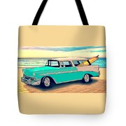 56 Nomad By The Sea In The Morning With Vivachas Tote Bag