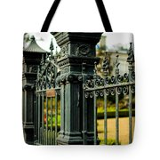 5603 St. Charles Ave Fence- Nola Tote Bag