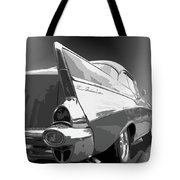57 Chevy Horizontal Tote Bag