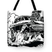 '57 Gasser Cartoon Tote Bag