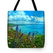 Landscape Lighting Tote Bag