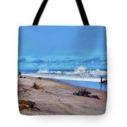 58- Sapphire Surf Tote Bag