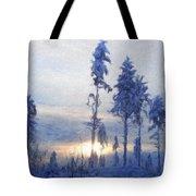 Landscape On Nature Tote Bag