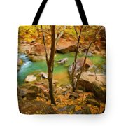 Nature Cool Landscape Tote Bag