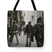 5th Avenue Walk Tote Bag