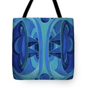 5th Mandala - Throat Chakra Tote Bag