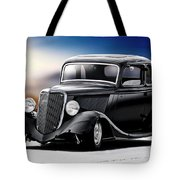 1934 Ford Five-window Coupe Tote Bag