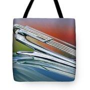 1940 Chevrolet Hood Ornament Tote Bag