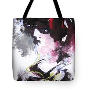 Abstract Figure Art Tote Bag