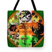 Abstract Painting - Lincoln Green Tote Bag