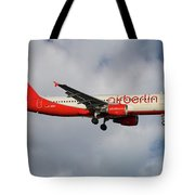 Air Berlin Airbus A320-214 Tote Bag