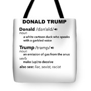 Anti Trump Impeach The President Vote For Dems Light Tote Bag