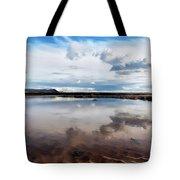 Back Beach - Lyme Regis Tote Bag