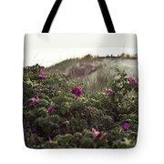 Rose Bush And Dunes Tote Bag