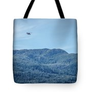 Beautiful Landscapes Around Ketchikan And Tongass Forest In Alas Tote Bag