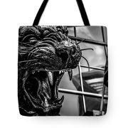 Black Panther Statue Tote Bag