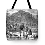 California Gold Rush Tote Bag