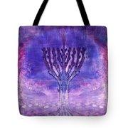 Chanukkah Lights Tote Bag