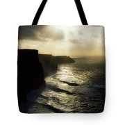 Cliffs Of Moher, Co Clare, Ireland Tote Bag by The Irish Image Collection
