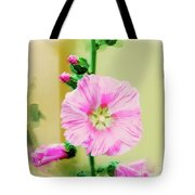 Common Hollyhock  Tote Bag
