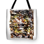 Compressed Pile Of Paper Products Tote Bag