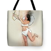 Cupid The God Of Desire Tote Bag